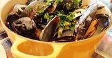 【歐陸菜】白酒奶油淡菜Mussels with wine