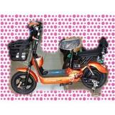 綠馳電動車E-Bike- AEJ1 (橘)-電動自行車/電動輔助自行車/電動機車/電動車