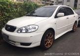 自售2003年Toyota ALTIS 1.8 ZE1EPE 白色 可議、可分期