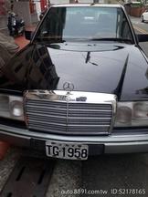 純自售 Benz W124 200E,1993年車,1998CC