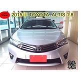 2015年 豐田  ALTIS  1.8  銀色