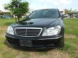 小改款W220 S350 V6 3.7歐規總代理黑色正2004年【澄湖】