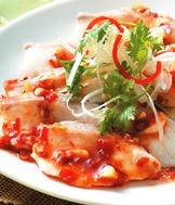 涼拌辣魚片