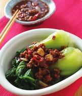 肉末青江菜